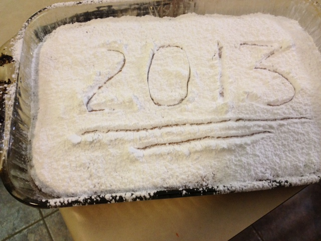 Greek New Year's Cake